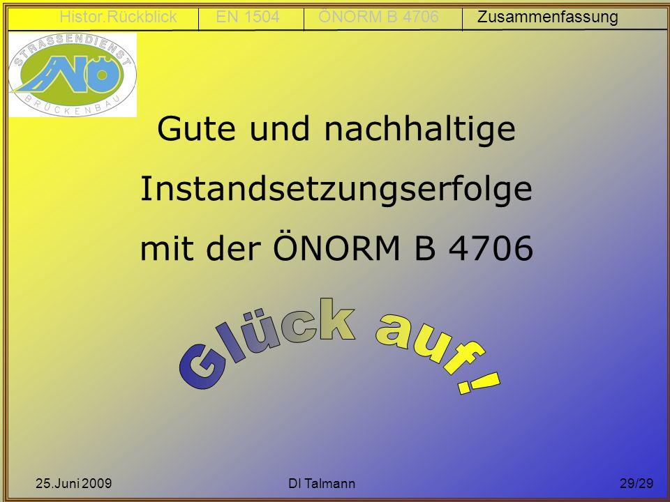 Instandsetzungserfolge mit der ÖNORM B 4706