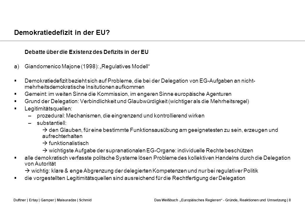 Demokratiedefizit in der EU