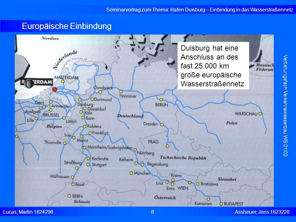 Europäische Einbindung