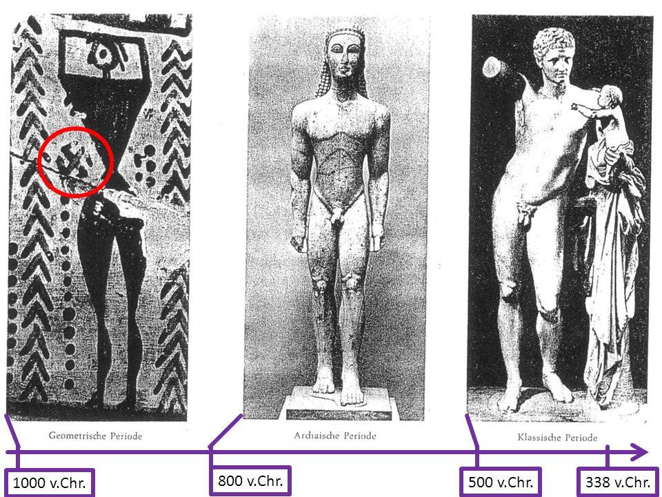 1000 v.Chr. 800 v.Chr. 500 v.Chr. 338 v.Chr.