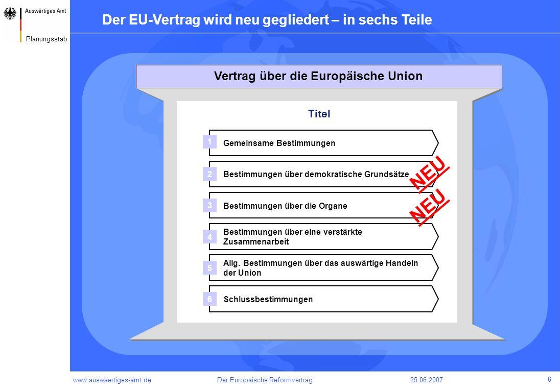 Vertrag über die Europäische Union