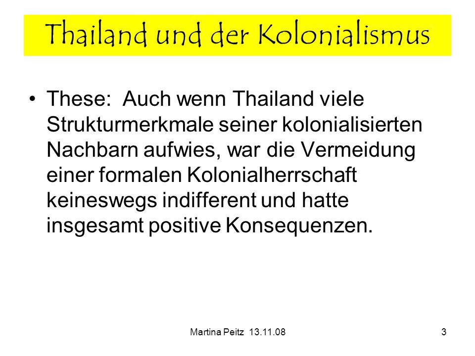 Thailand und der Kolonialismus