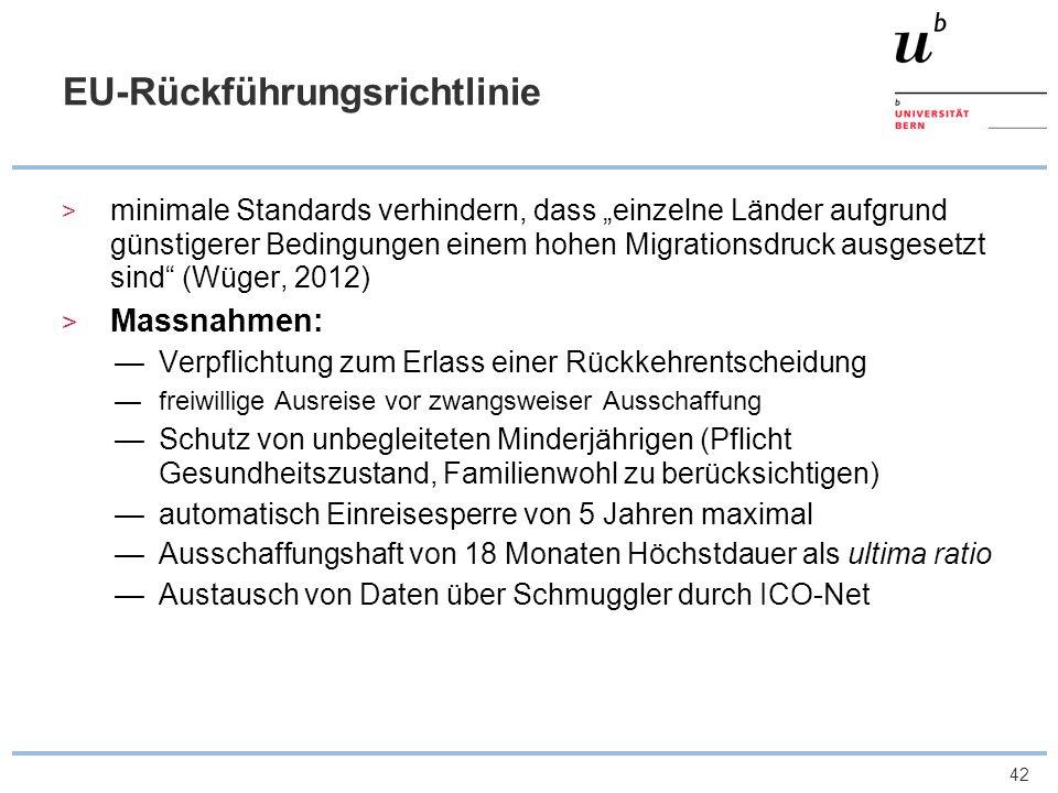 EU-Rückführungsrichtlinie