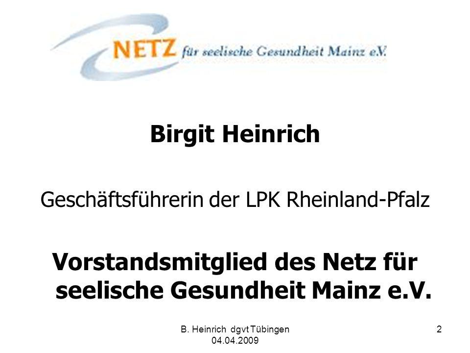Vorstandsmitglied des Netz für seelische Gesundheit Mainz e.V.
