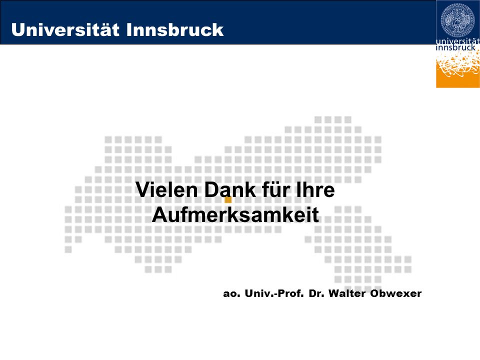 ao. Univ.-Prof. Dr. Walter Obwexer