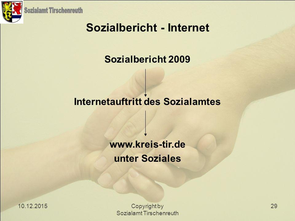 Sozialbericht - Internet