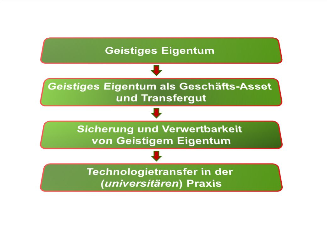 Geistiges Eigentum als Geschäfts-Asset und Transfergut