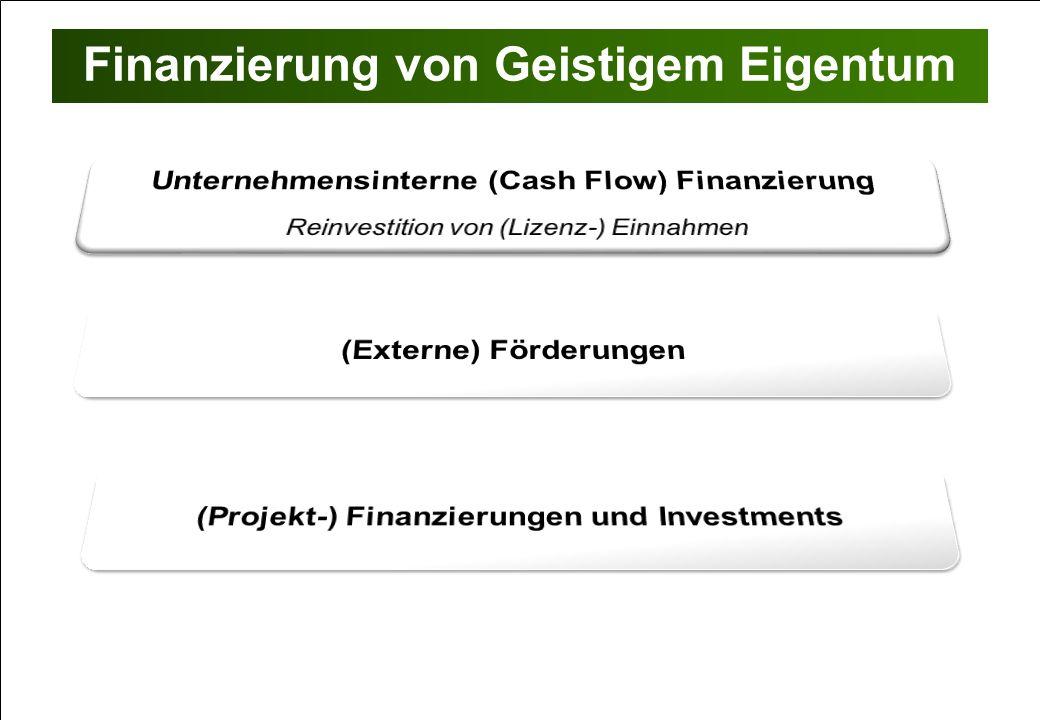 Finanzierung von Geistigem Eigentum