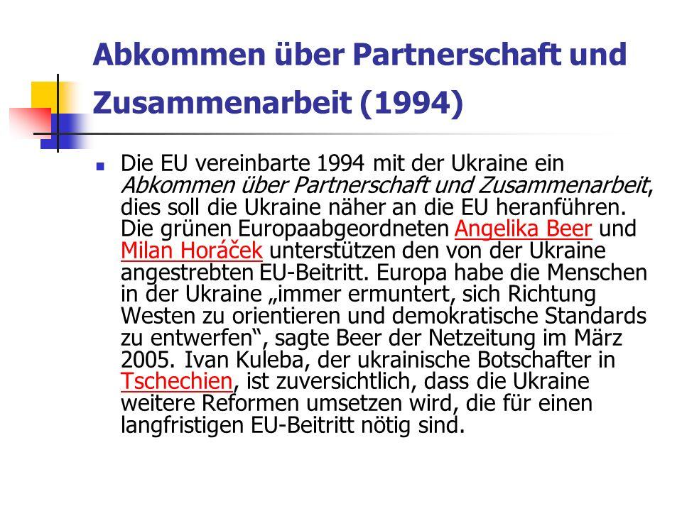 Abkommen über Partnerschaft und Zusammenarbeit (1994)