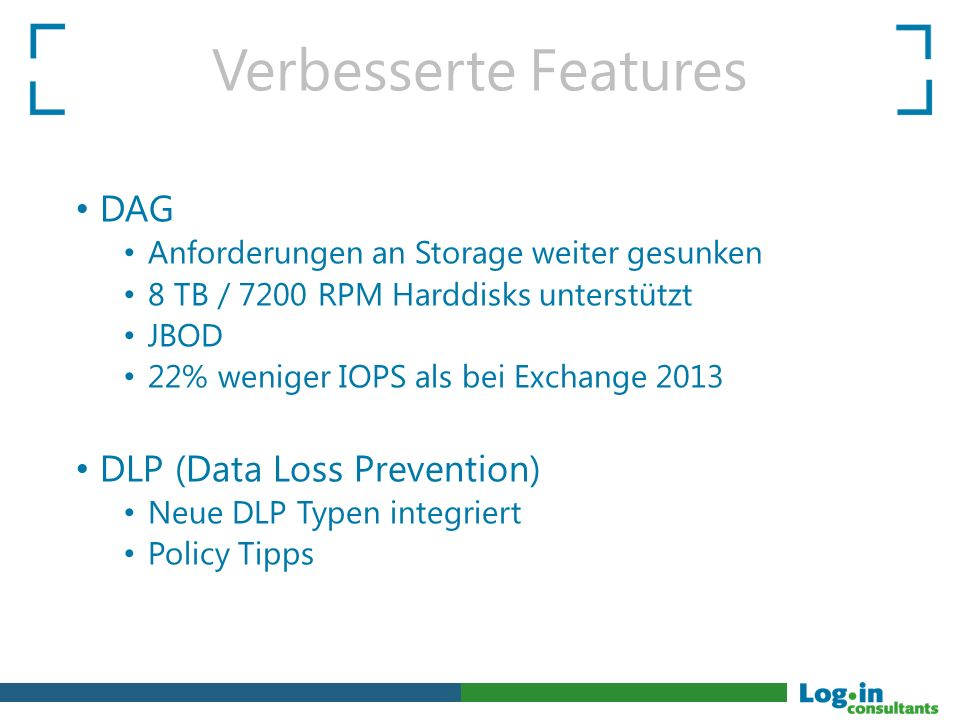Verbesserte Features DAG DLP (Data Loss Prevention)