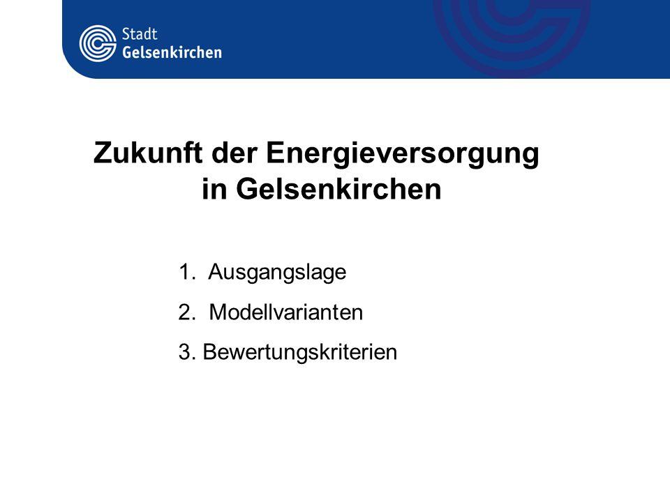 Zukunft der Energieversorgung in Gelsenkirchen