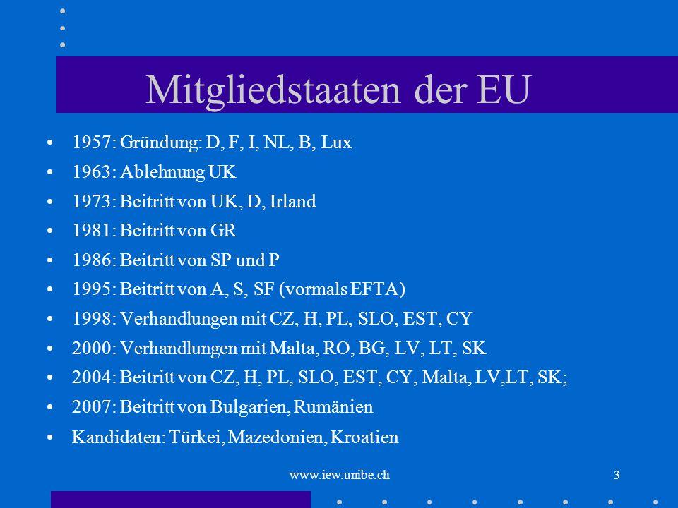 Mitgliedstaaten der EU
