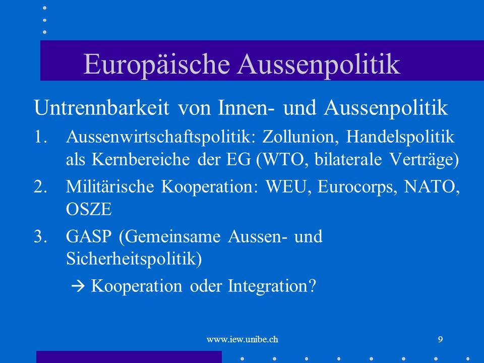 Europäische Aussenpolitik