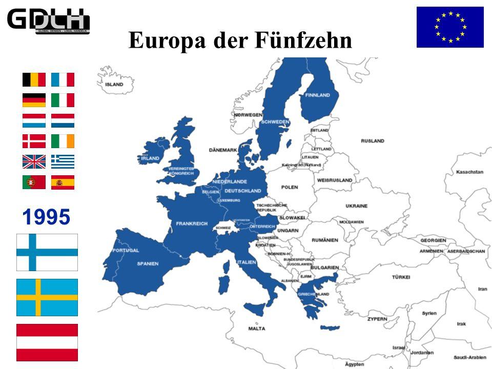 …zum Europa der Fünfzehn