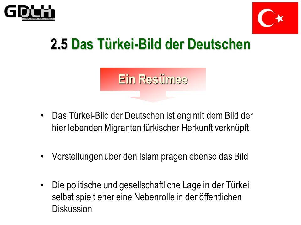 2.5 Das Türkei-Bild der Deutschen