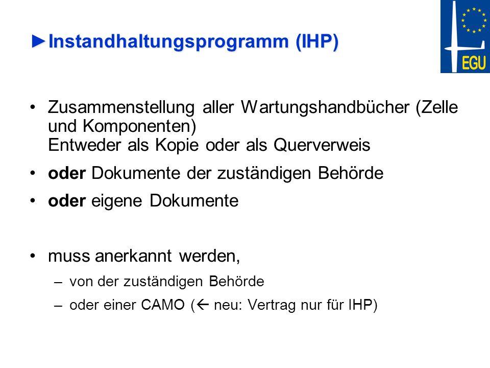 Instandhaltungsprogramm (IHP)