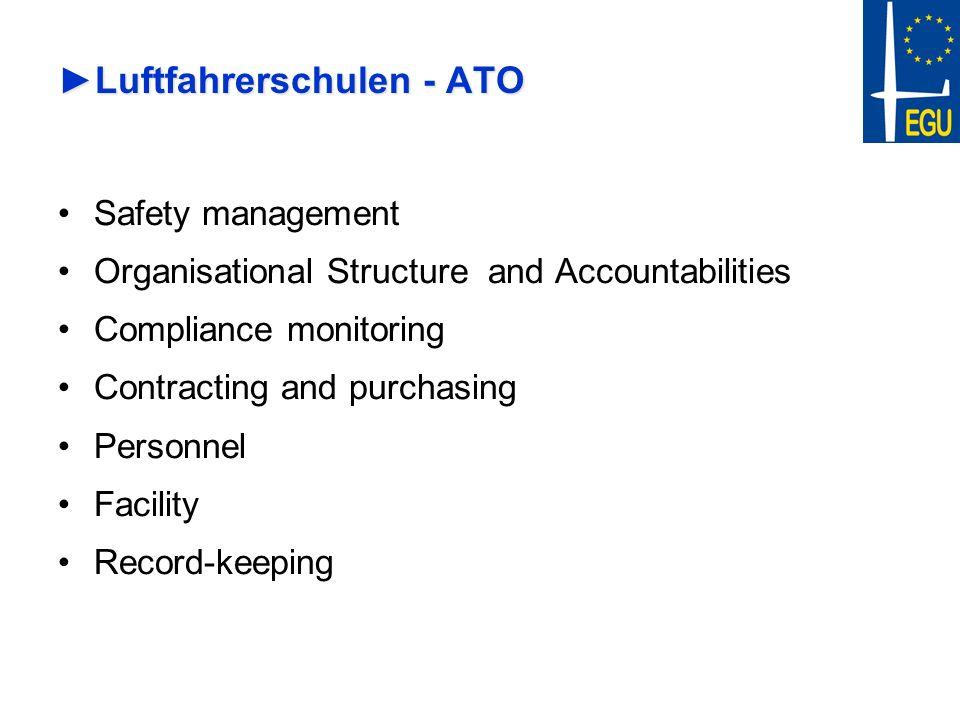 Luftfahrerschulen - ATO