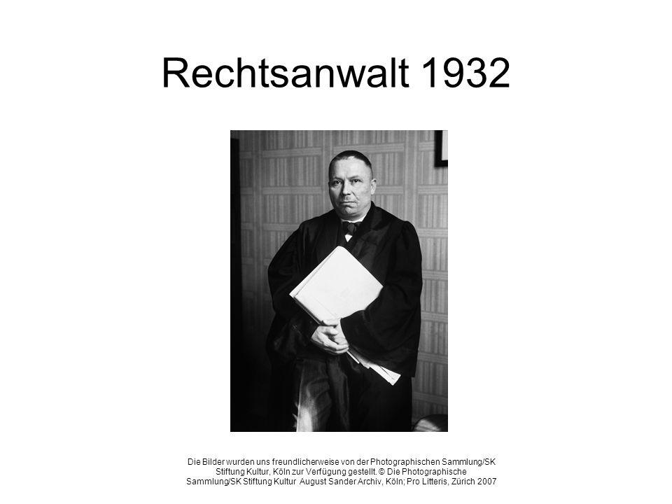 Rechtsanwalt 1932