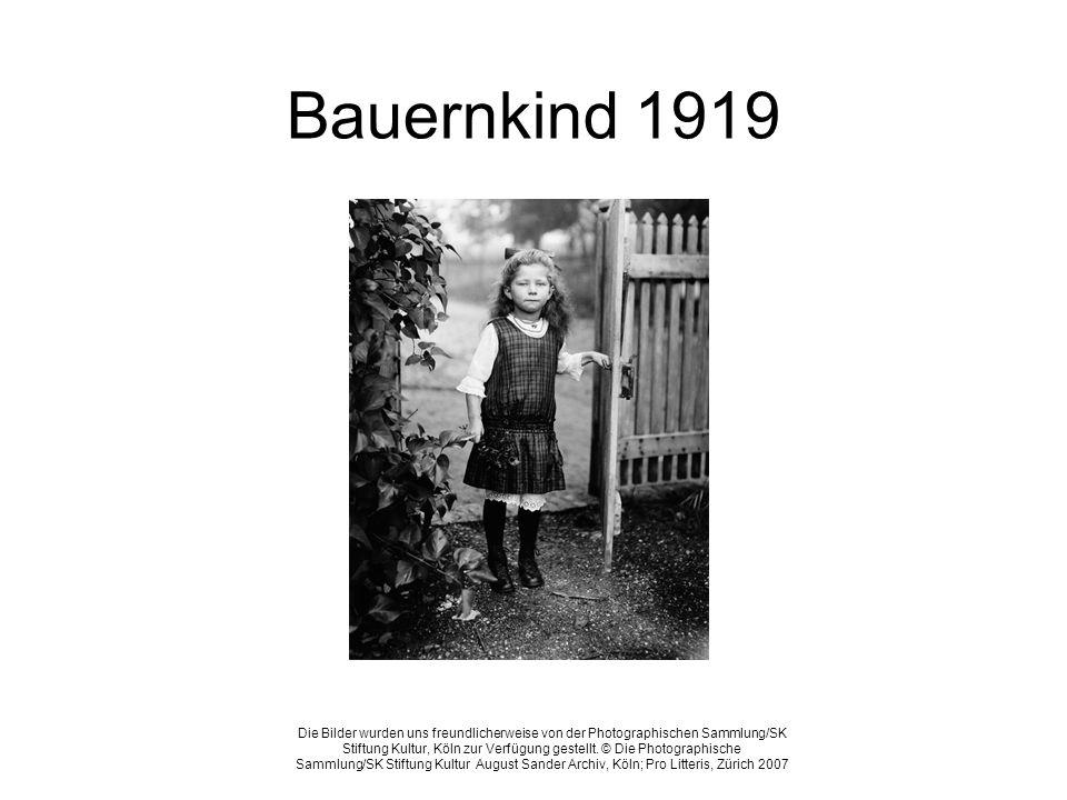 Bauernkind 1919