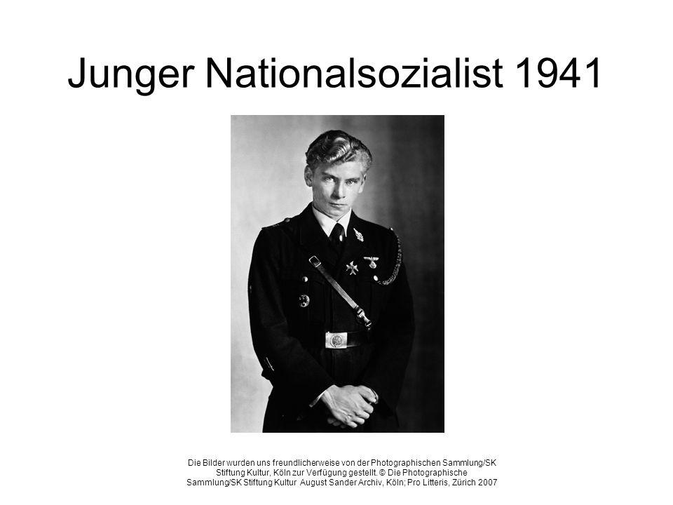 Junger Nationalsozialist 1941