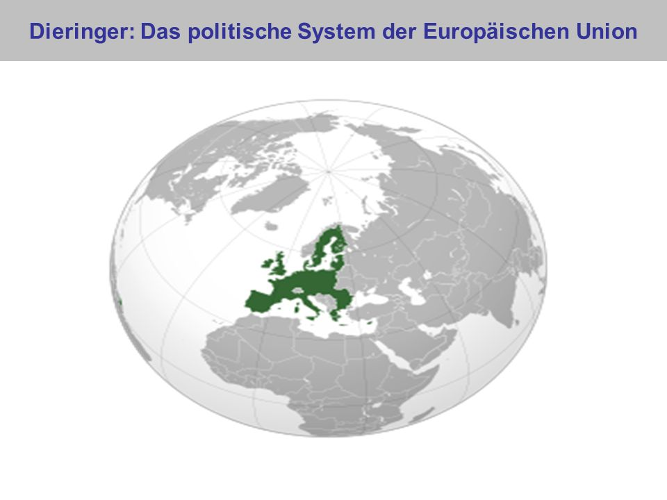 Dieringer: Das politische System der Europäischen Union