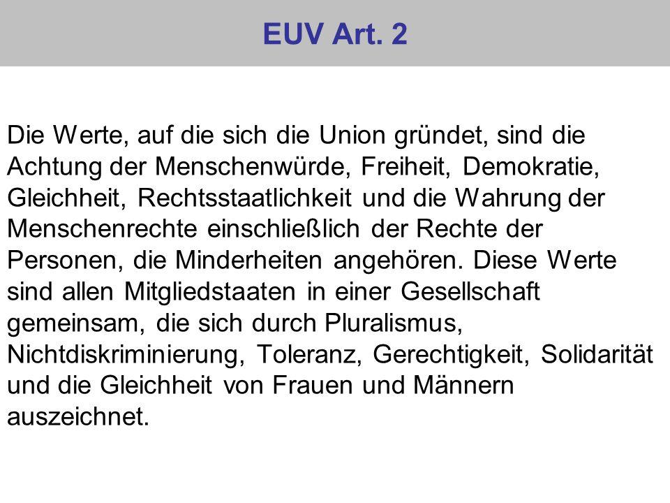 EUV Art. 2