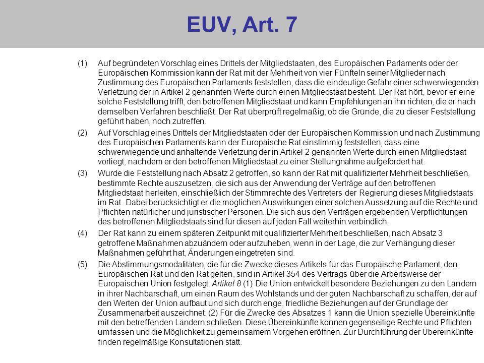 EUV, Art. 7