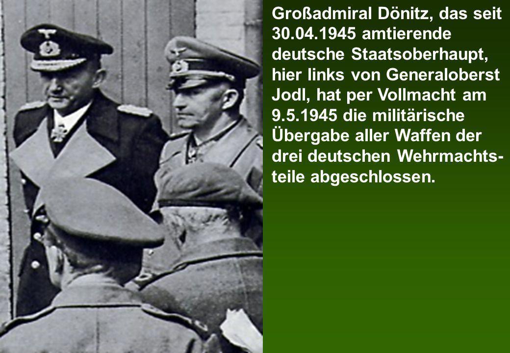 Großadmiral Dönitz, das seit 30. 04