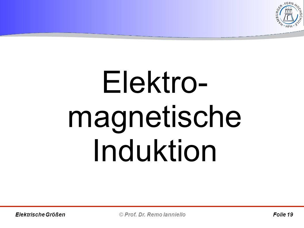 Elektro-magnetische Induktion