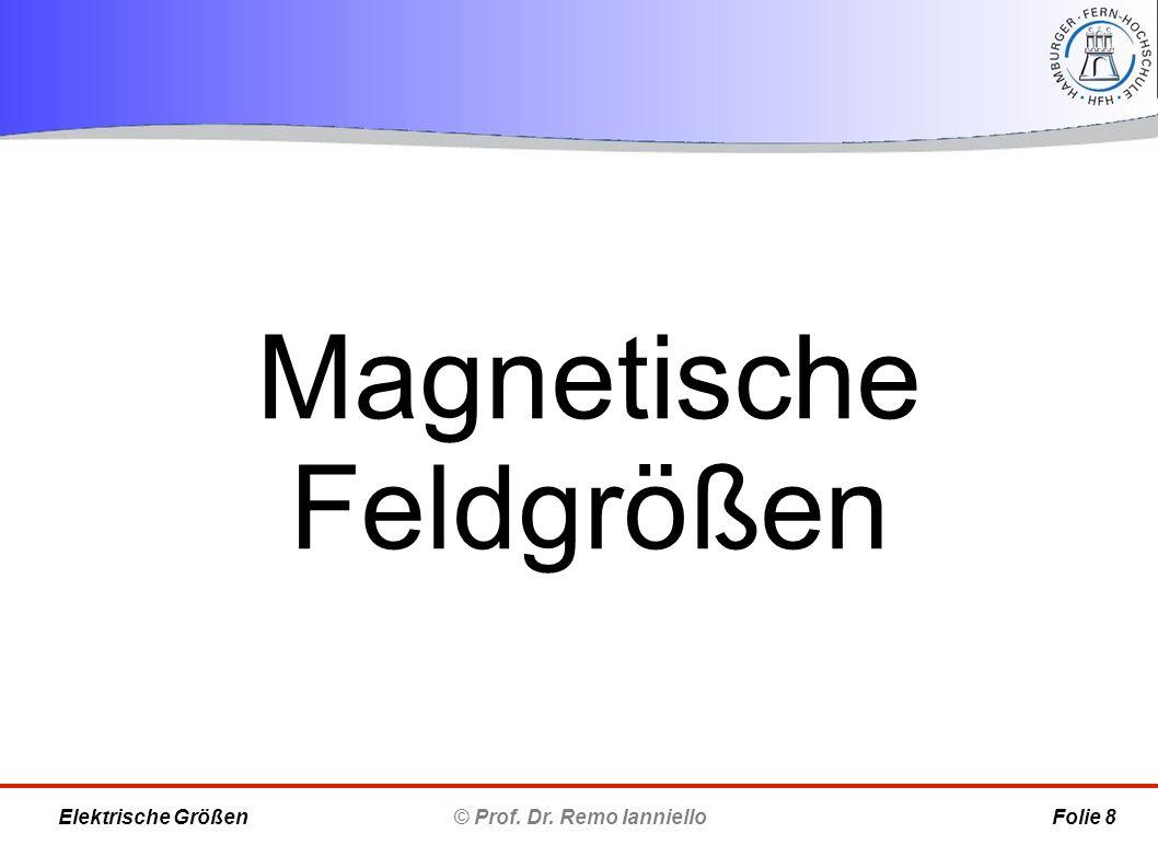 Magnetische Feldgrößen