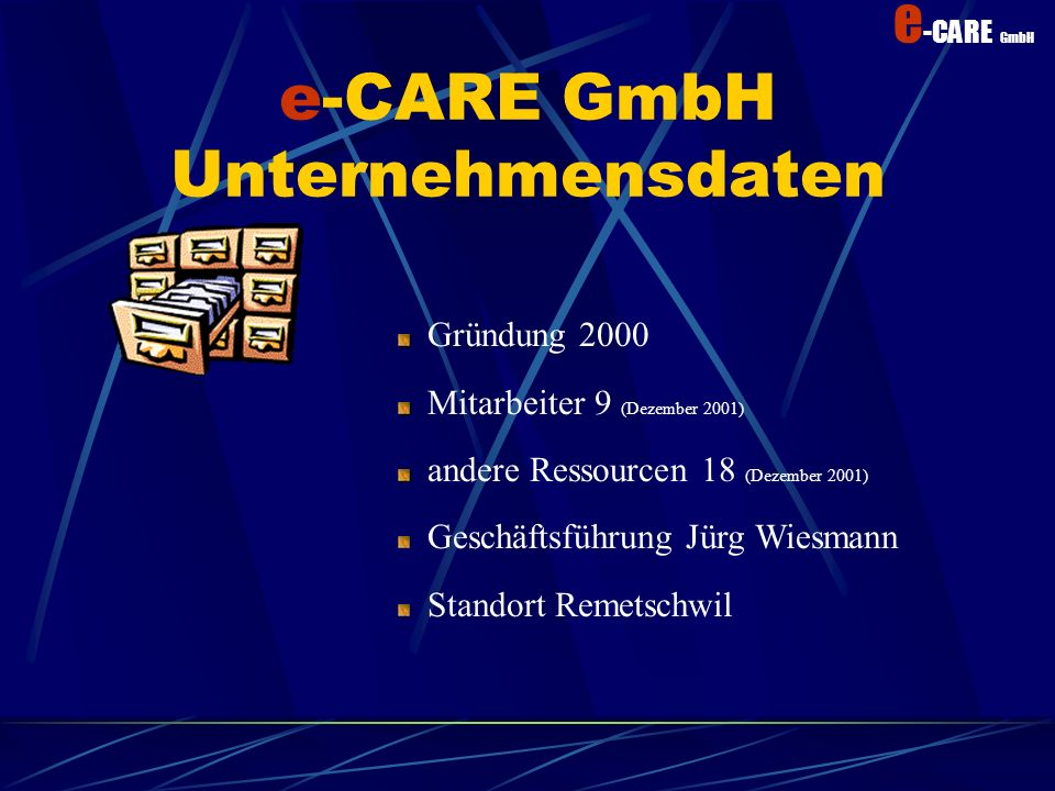 e-CARE GmbH Unternehmensdaten