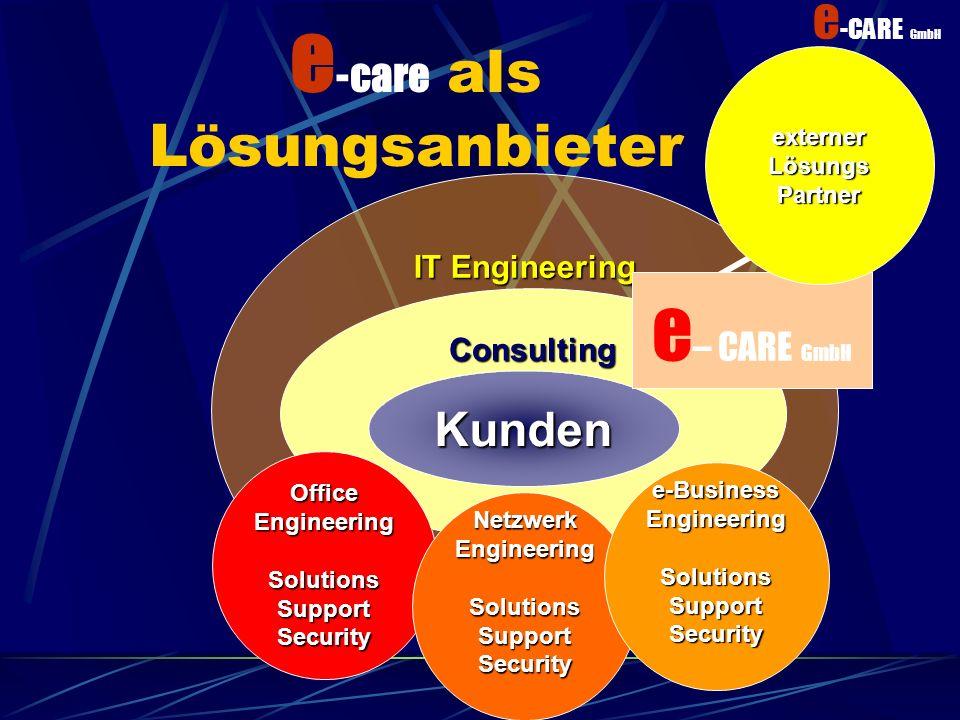 e-care als Lösungsanbieter
