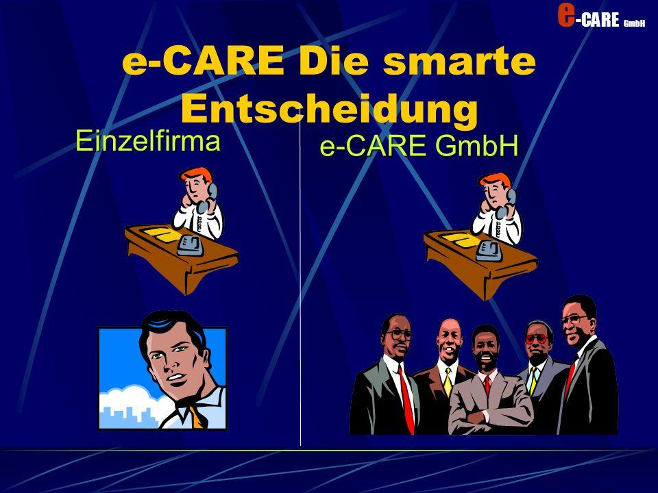 e-CARE Die smarte Entscheidung