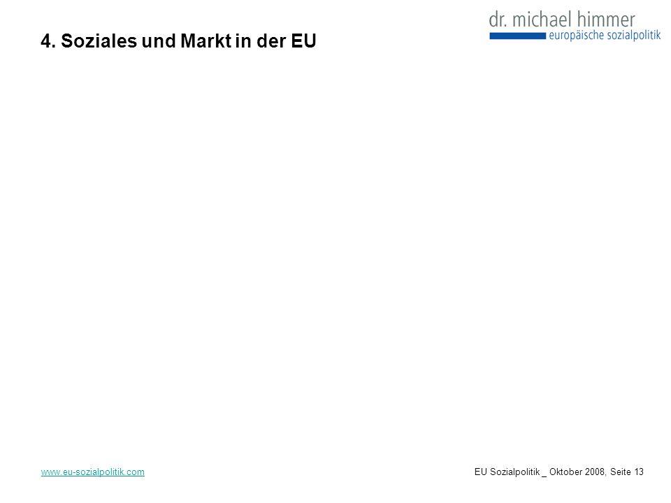 4. Soziales und Markt in der EU