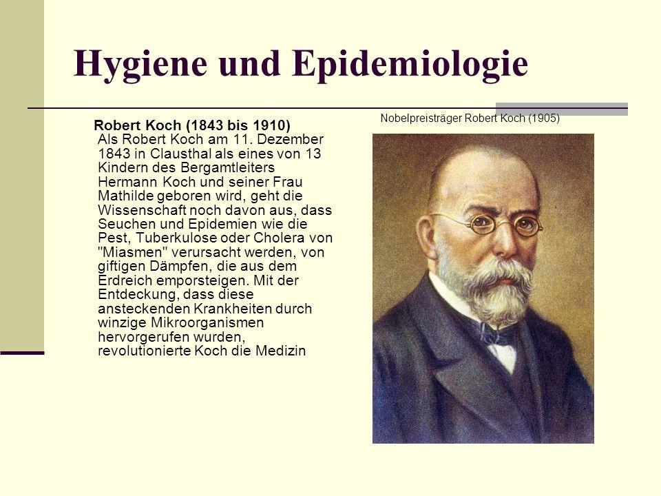 Hygiene und Epidemiologie