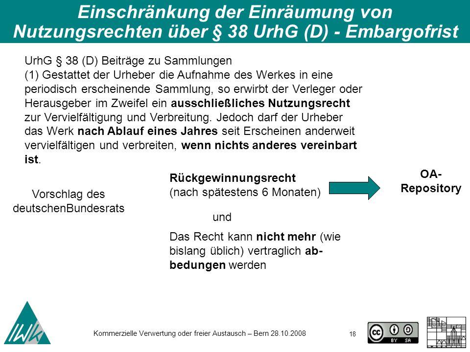 Vorschlag des deutschenBundesrats
