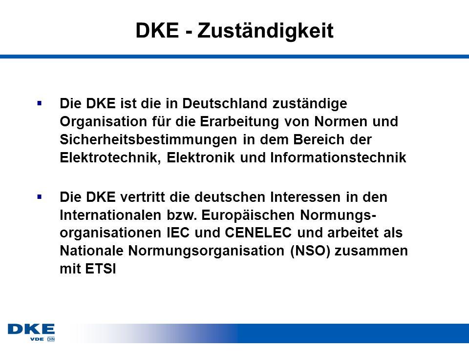 DKE - Zuständigkeit