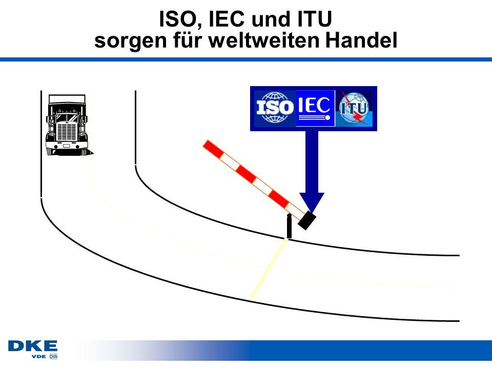 ISO, IEC und ITU sorgen für weltweiten Handel