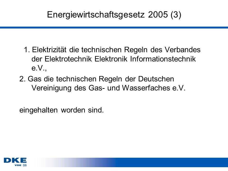 Energiewirtschaftsgesetz 2005 (3)