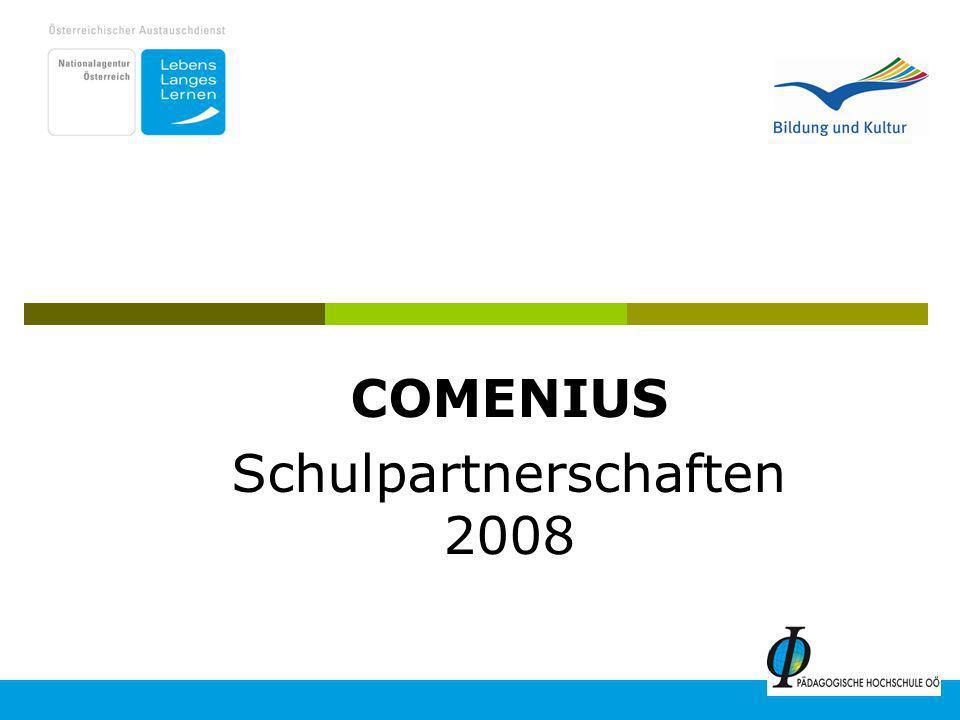COMENIUS Schulpartnerschaften 2008