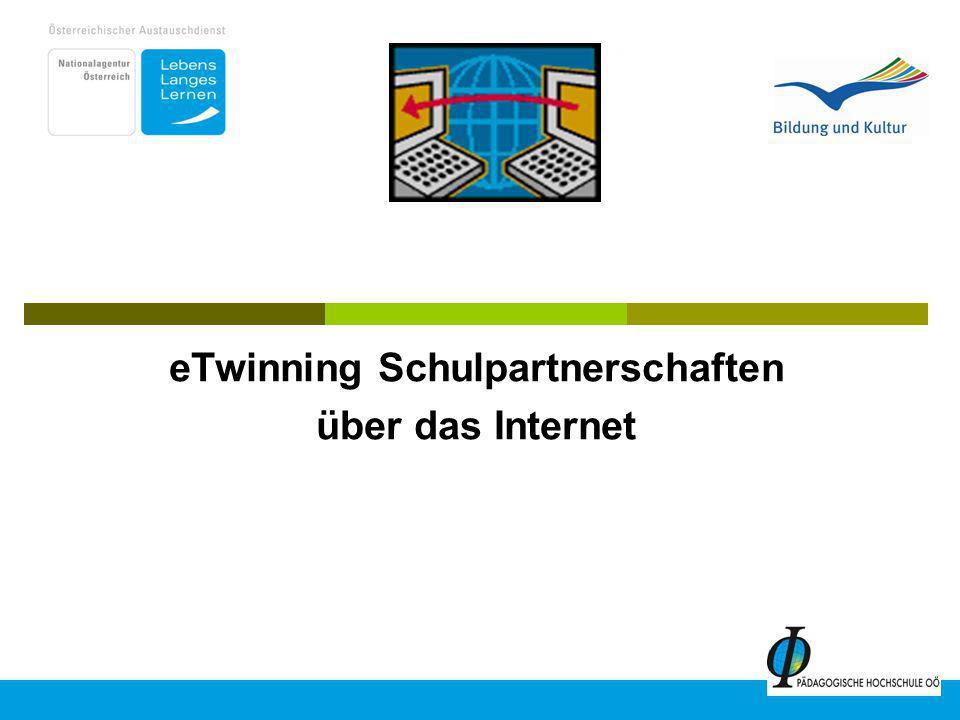 eTwinning Schulpartnerschaften über das Internet