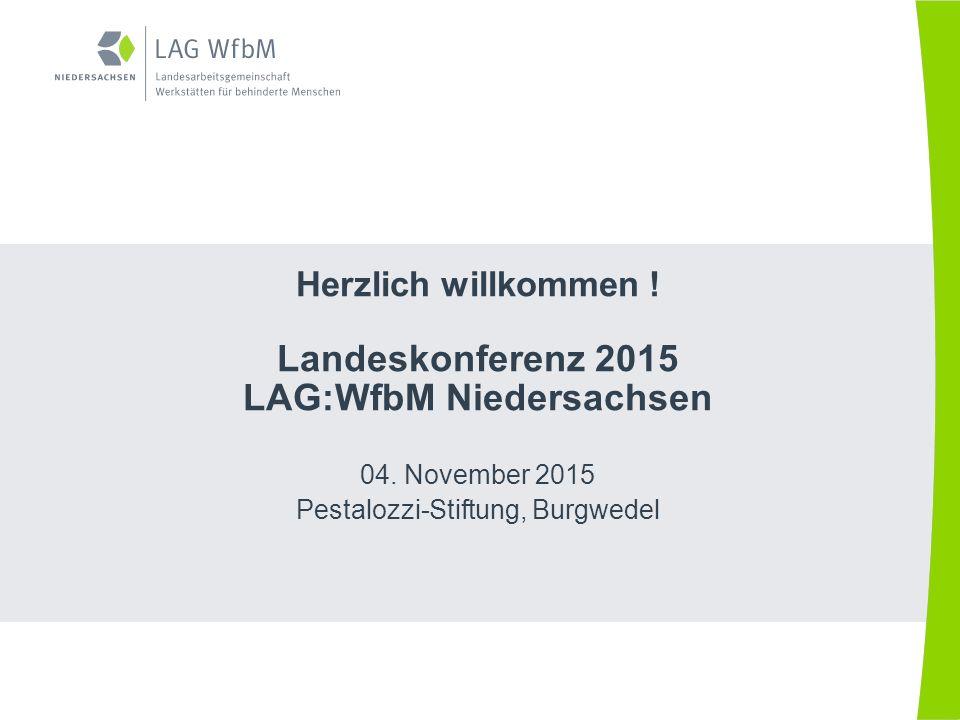 LAG:WfbM Niedersachsen