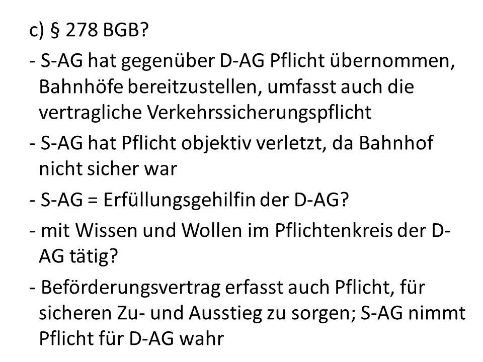 c) § 278 BGB.