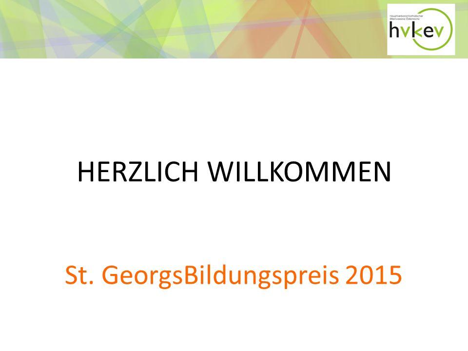 St. GeorgsBildungspreis 2015