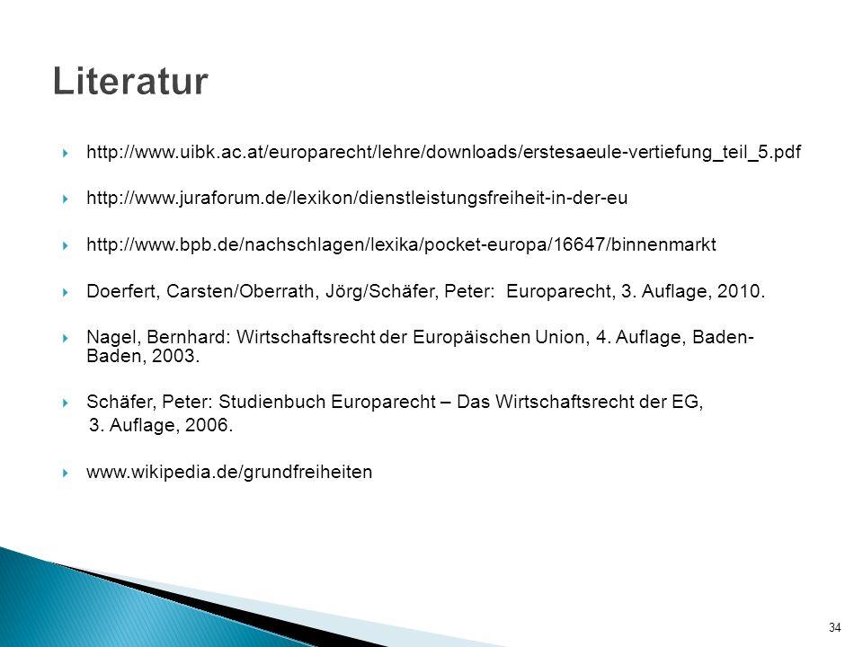 Literatur http://www.uibk.ac.at/europarecht/lehre/downloads/erstesaeule-vertiefung_teil_5.pdf.