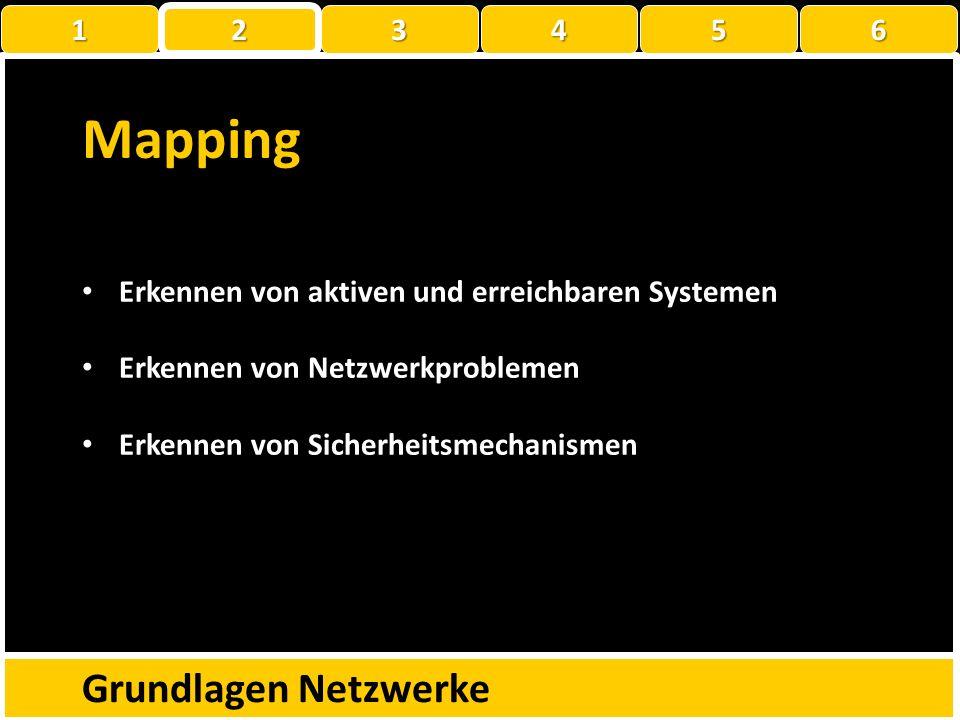 Mapping Grundlagen Netzwerke 1 2 3 4 5 6