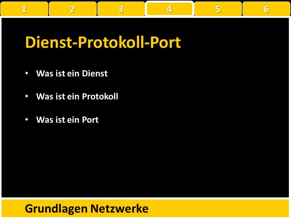 Dienst-Protokoll-Port
