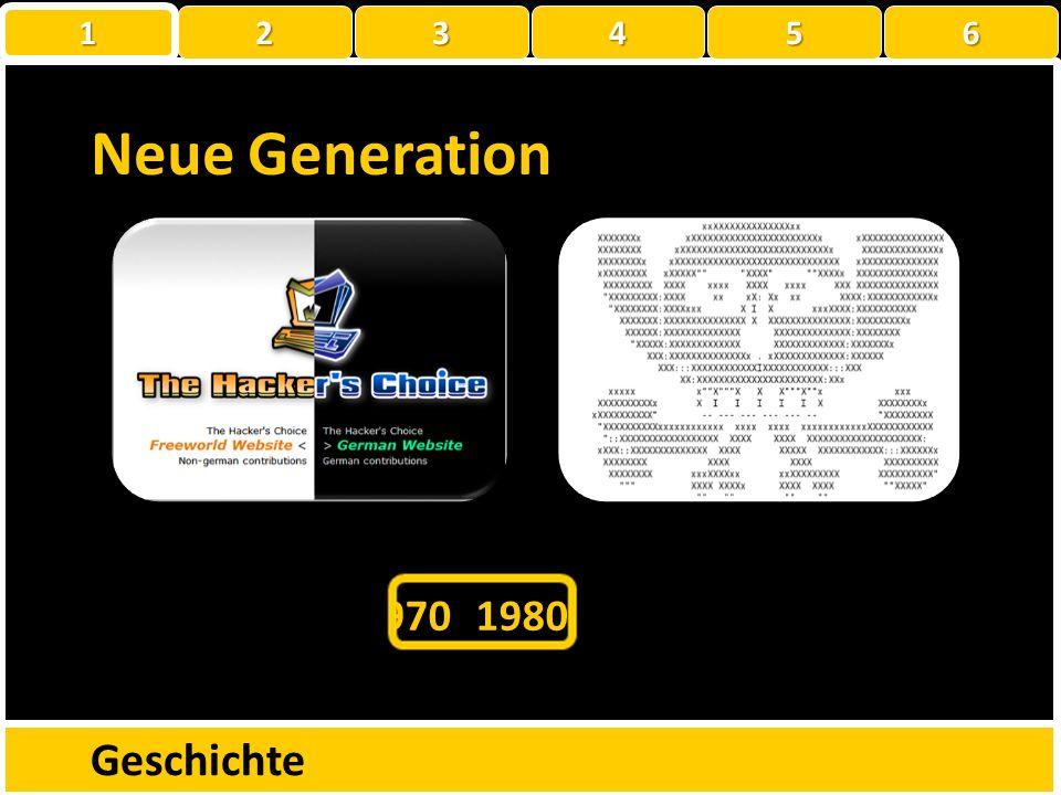 Neue Generation Geschichte 1960 1970 1980 1990 2000 2010 1950 1 2 3 4