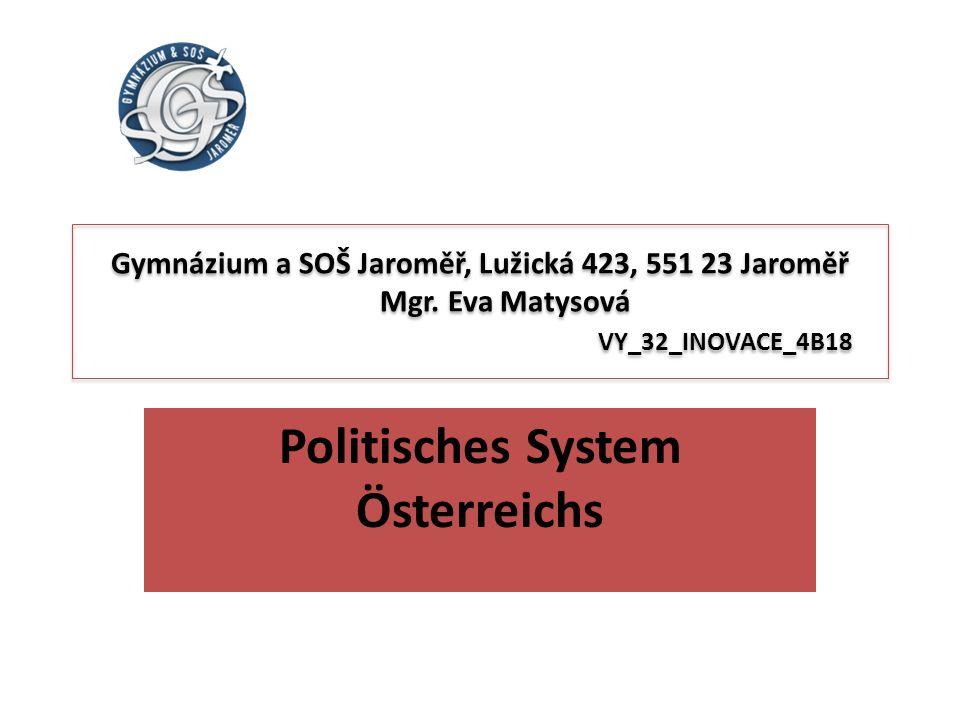 Politisches System Österreichs