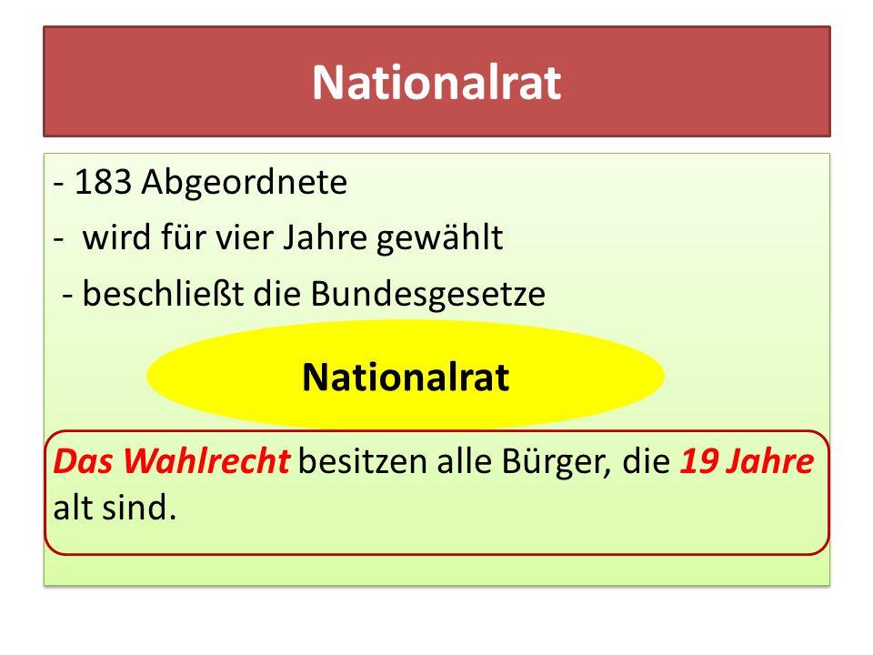 Nationalrat Nationalrat